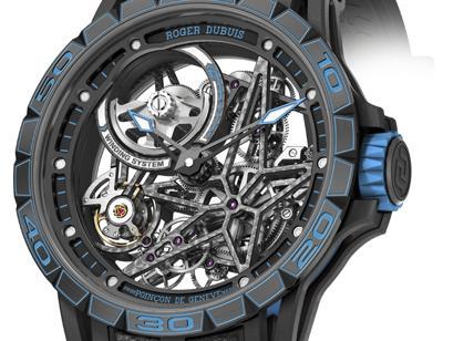 Excalibur Spider Pirelli: segnatempo da competizione