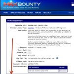 How to get your tracking link from Maxbounty