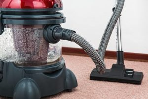 carpet vaccuming
