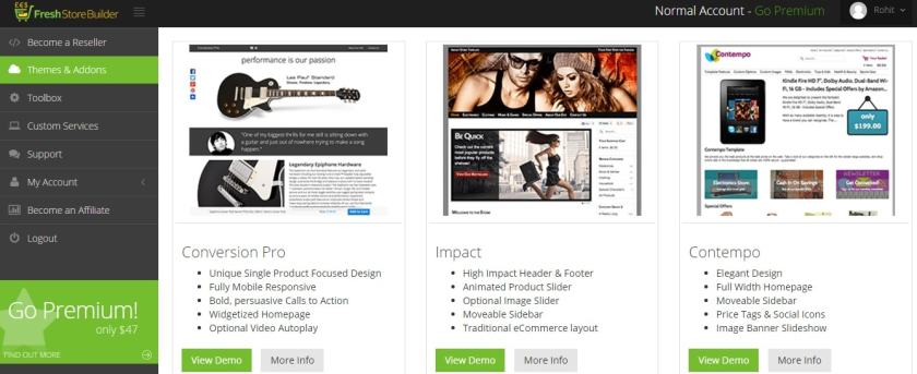 Store Builder themes and templates- Expert choice