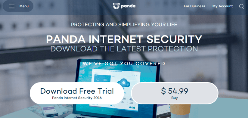 Panda security software
