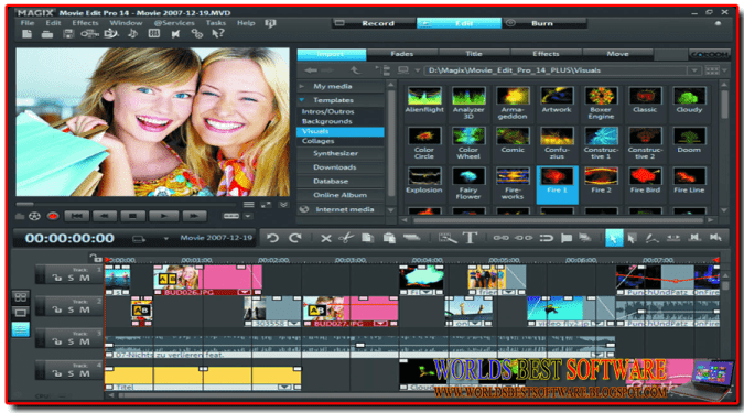 MAGIX Movie Edit Pro 2014 Premium ScreenShot Pic (By WORLDSBESTSOFTWARE.BLOGSPOT.COM)