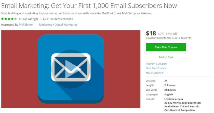 Email Marketing Get Your First 1000 Email Subscribers Now