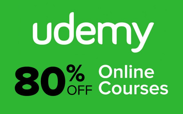 Top udemy courses 90 percent off