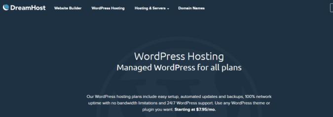 dreamhost- BestWeb Hosting Providers In UK