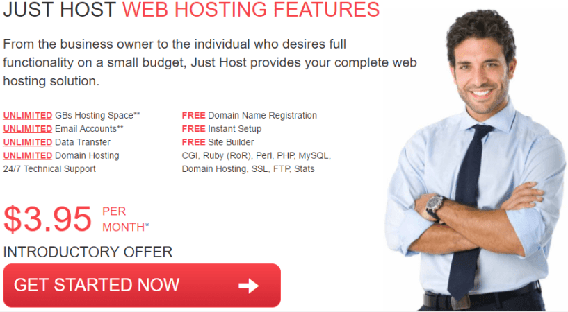 justhost pricing plans- BestWeb Hosting Providers In UK