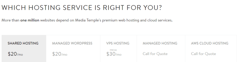 media temple pricing- Best Web Hosting Providers In UK