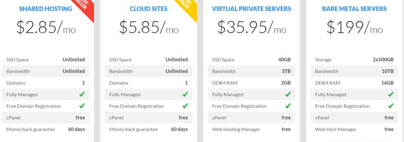 TMD Hosting Pricing- Best Web Hosting Providers In Europe
