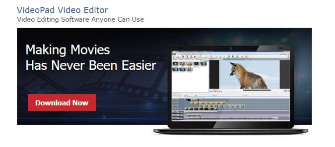 videopad editor code