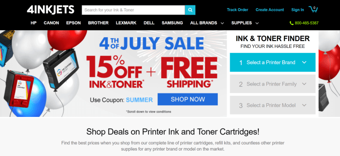 4inkjets discount coupon codes
