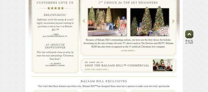 Select the favourable size of the tree. ○ Fill in the necessary details  like personal and shipping. ○ Get your home decorated by Balsam Hill. - Latest} Balsam Hill Coupon Codes December2018 -Save $55