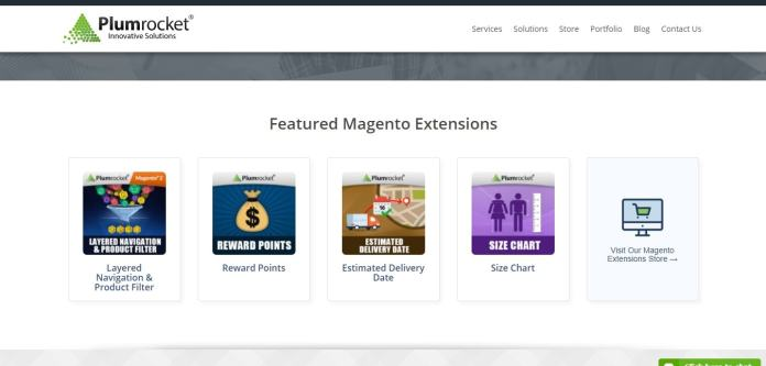 Plumrocket magento features and extensions