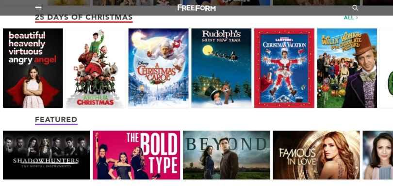 freeform serials