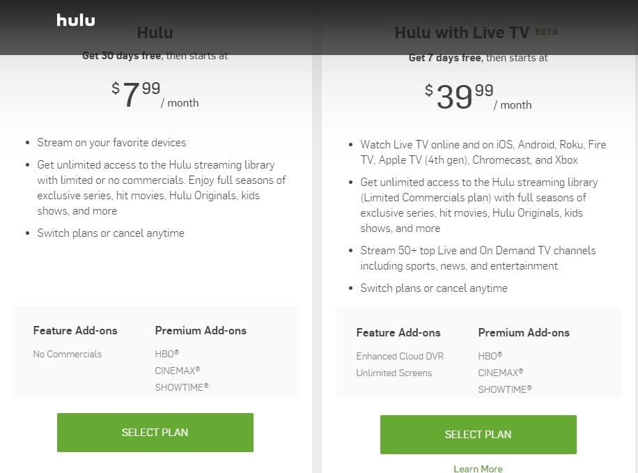 Hulu redeem gift subscription