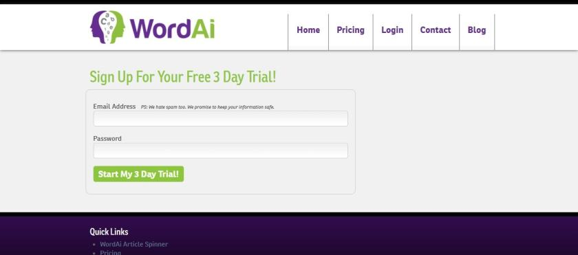 wordai free account- WordAi discount coupon codes