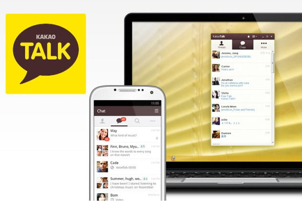 kakao talk messaging app