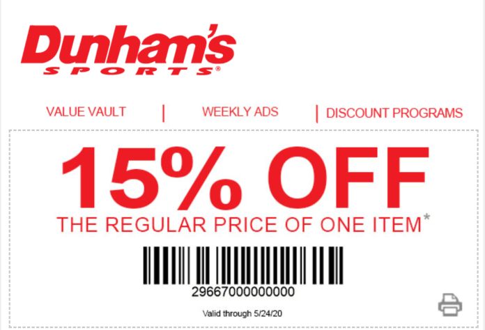Dunhams coupon codes and offer discount