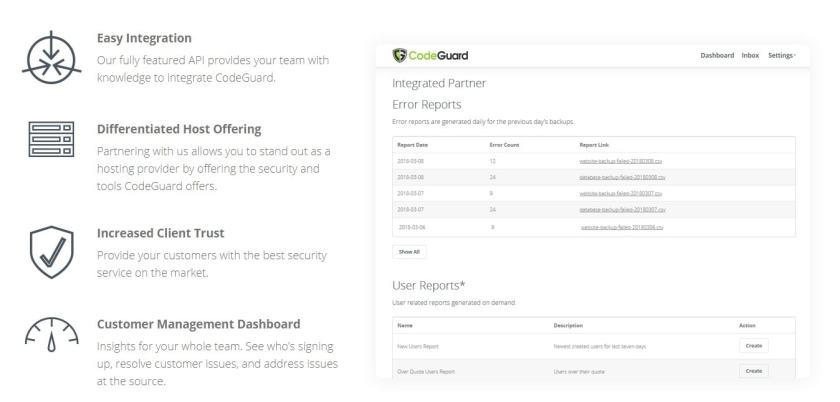 CodeGuard Coupon Codes -fastest and most reliable backup service