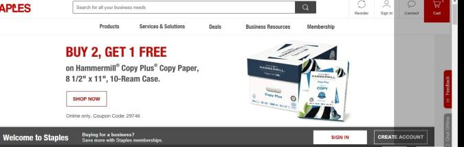 Lets First Checkout The Staples Discount Coupon Codes And Further Know All About Firm Its Products