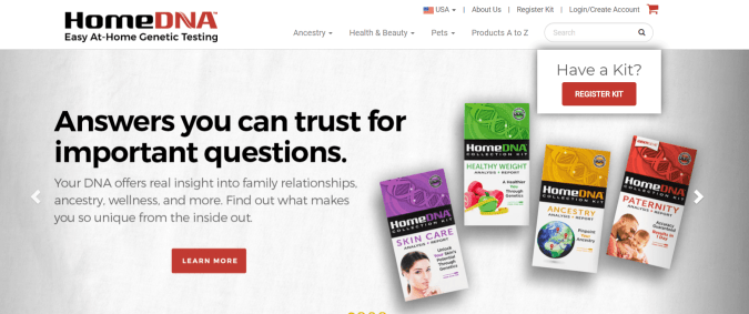 HomeDNA Coupon Codes- Easy At Home Genetic Testing