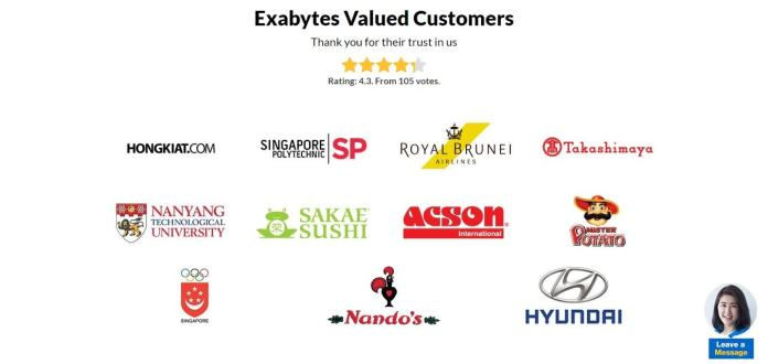 Features - ExaBytes Coupon Discount