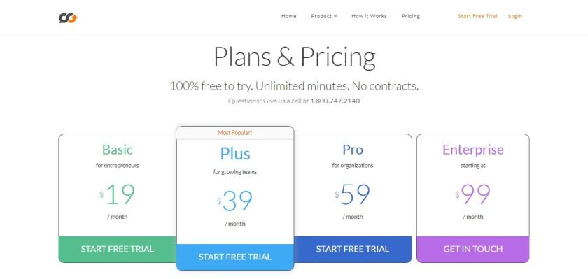 Plans & Pricing (Talkroute Coupon Codes)