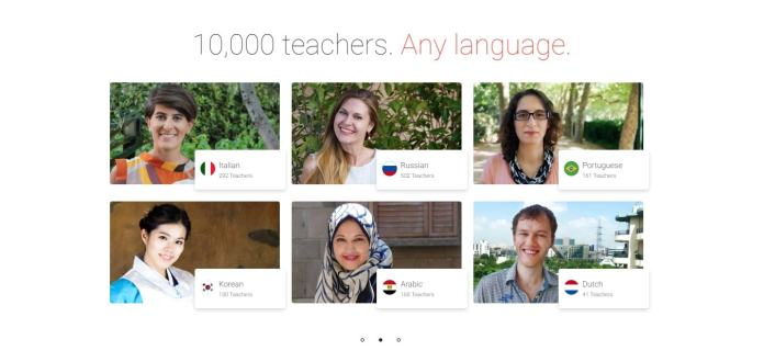iTalki 10000 teachers any languge