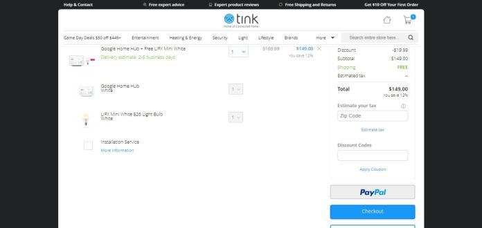 grab your own Tink discount coupon codes