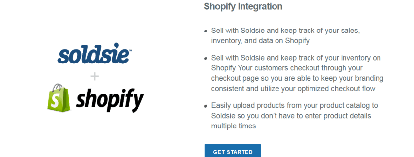 Soldsie Review + Shopify Integration