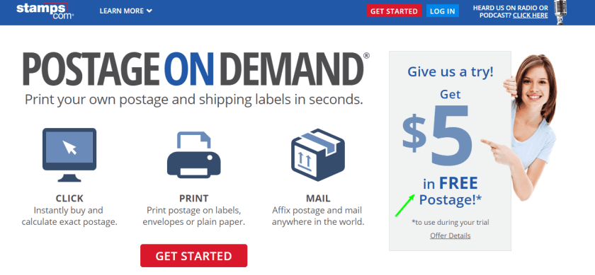 Stamps.com Review With Coupon Codes-Stamp.com