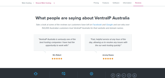 VentraIP coupons