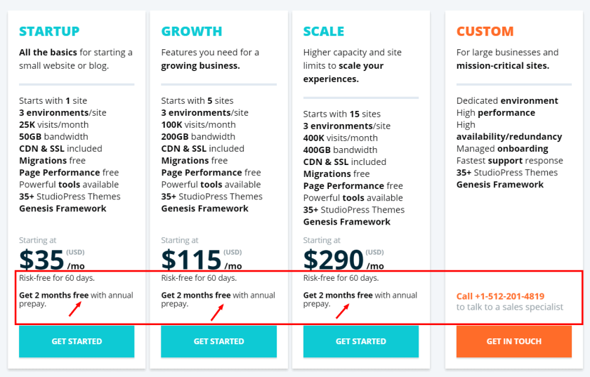 Wp Engine Review With Discount Coupon Code-Pricing Plan