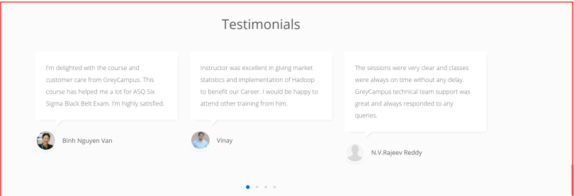 GreyCampus Review customers
