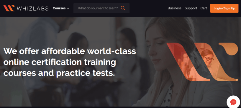 Whizlabs Success Story- course structure