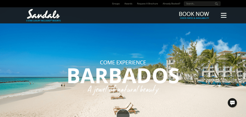 Sandals resorts for Barbados