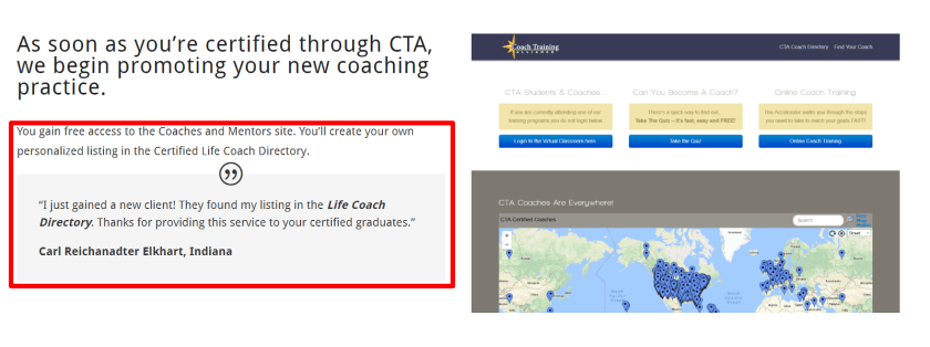 Review of certified Coaching Practice