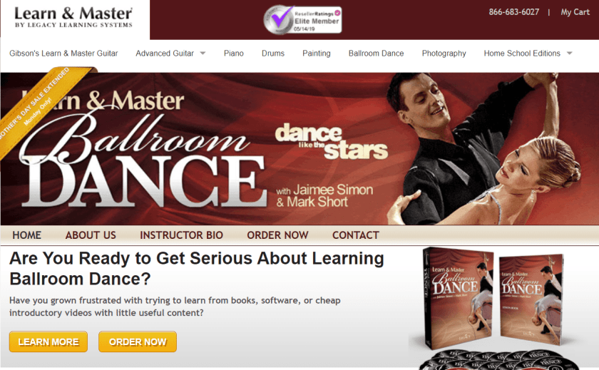 Learn And Master Ballroom Dance Review