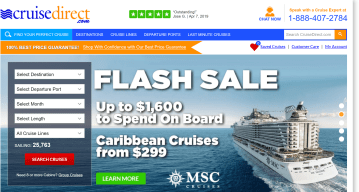 Cruise direct coupon codes