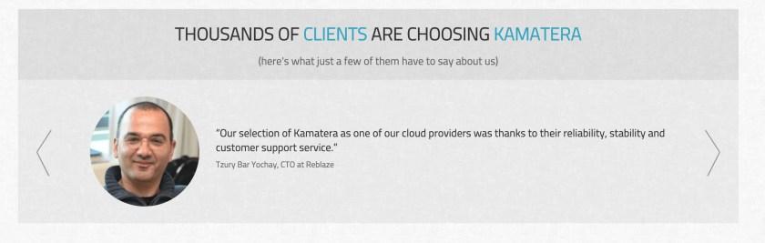 Kamatera – Customer Review
