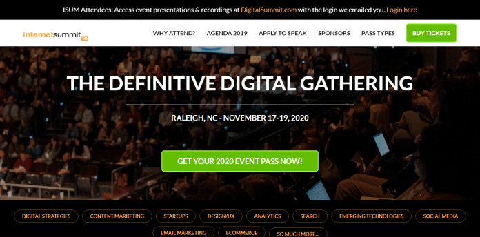 Digital Marketing Conference - Internet Summit