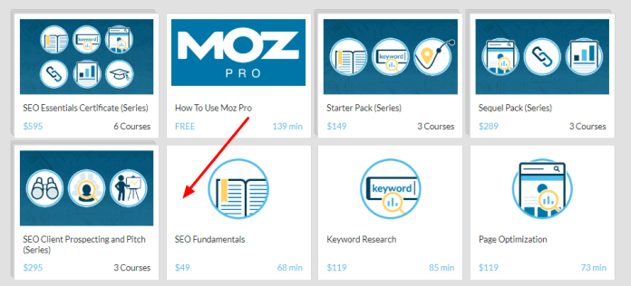 Moz Academy - Grow your business with it