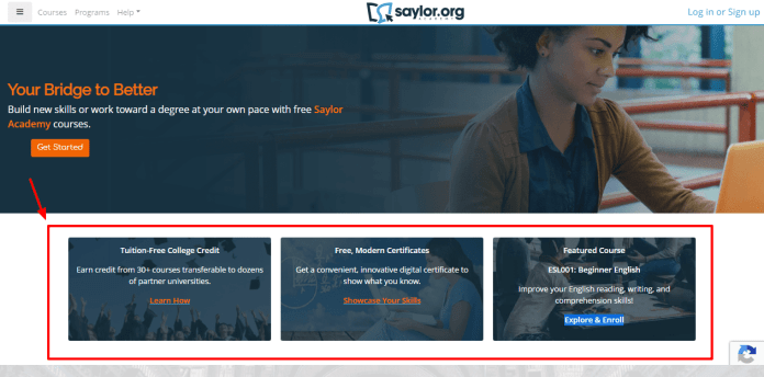 Saylor Academy - Your Bridge to better