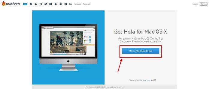Running Hola on Mac OS X – Hola VPN