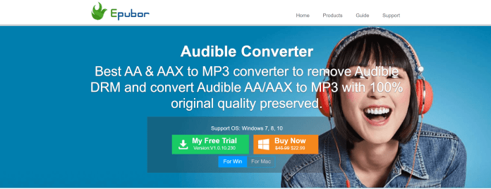 Epubor audible converter review