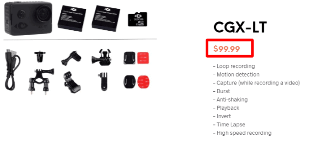 Cyclopsgear - Pricing Policy