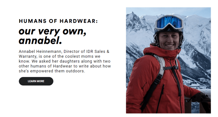 Humans Of hardwear - Our very own, annabel