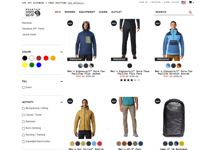 Men Featured New Arrivals - Mountain Hardwear