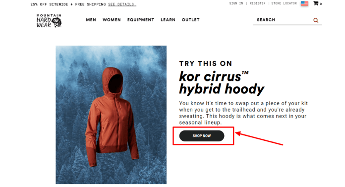 Try this on Kor cirrus hybrid hoody