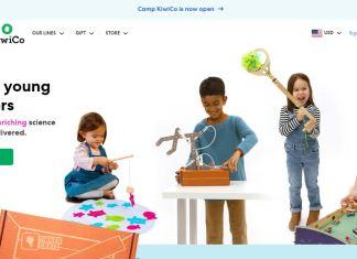 KiwiCo Promo Codes Homepage