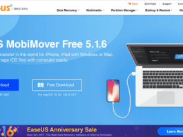MobiMover Review Homepage